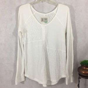 Anthropology brand Saturday Sunday sweater white